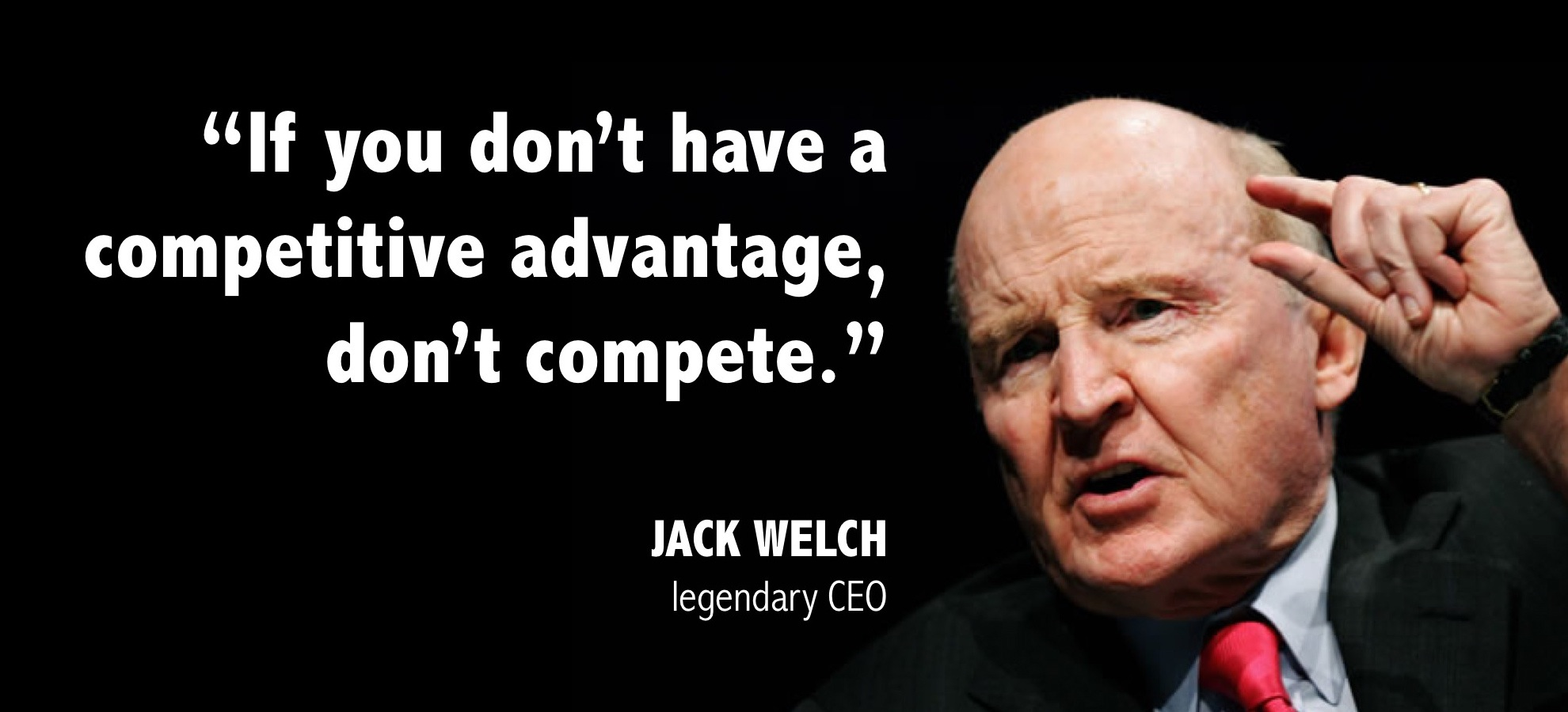 leadership jack welch The jack welch management institute (jwmi) launched a human resources leadership concentration for its top-ranked online mba program.